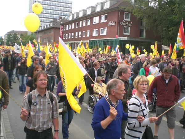 Demonstration am 28.5.2011