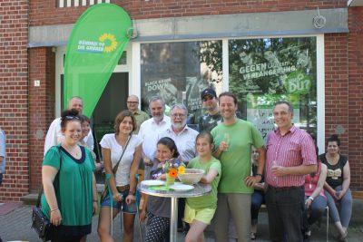 Eröffnung des Grünen Bürgerbüros am 7.7.2013