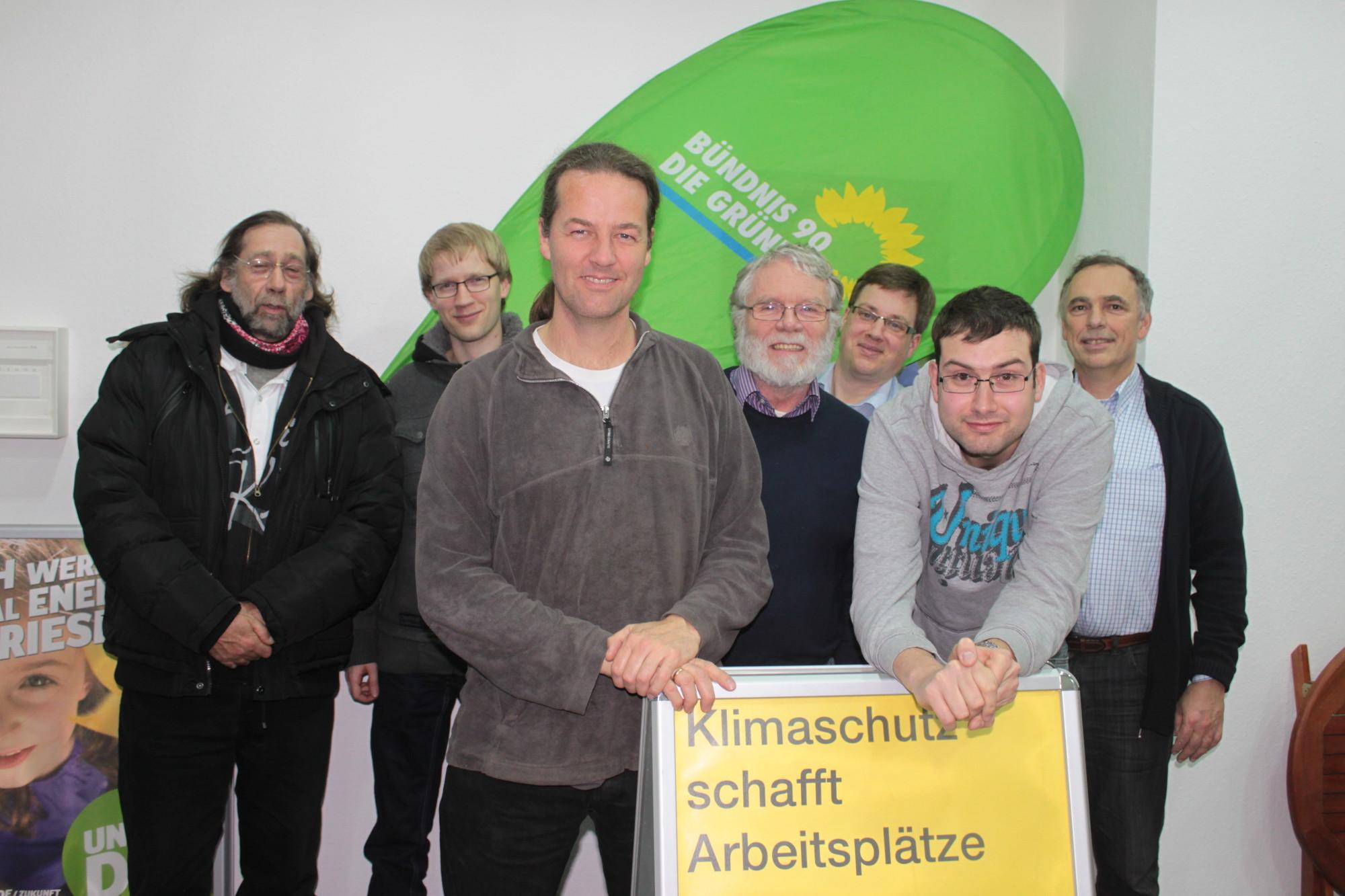 vorne v.l.: Hermann Stubbe, Joost Sträter, Sven Steinsträter