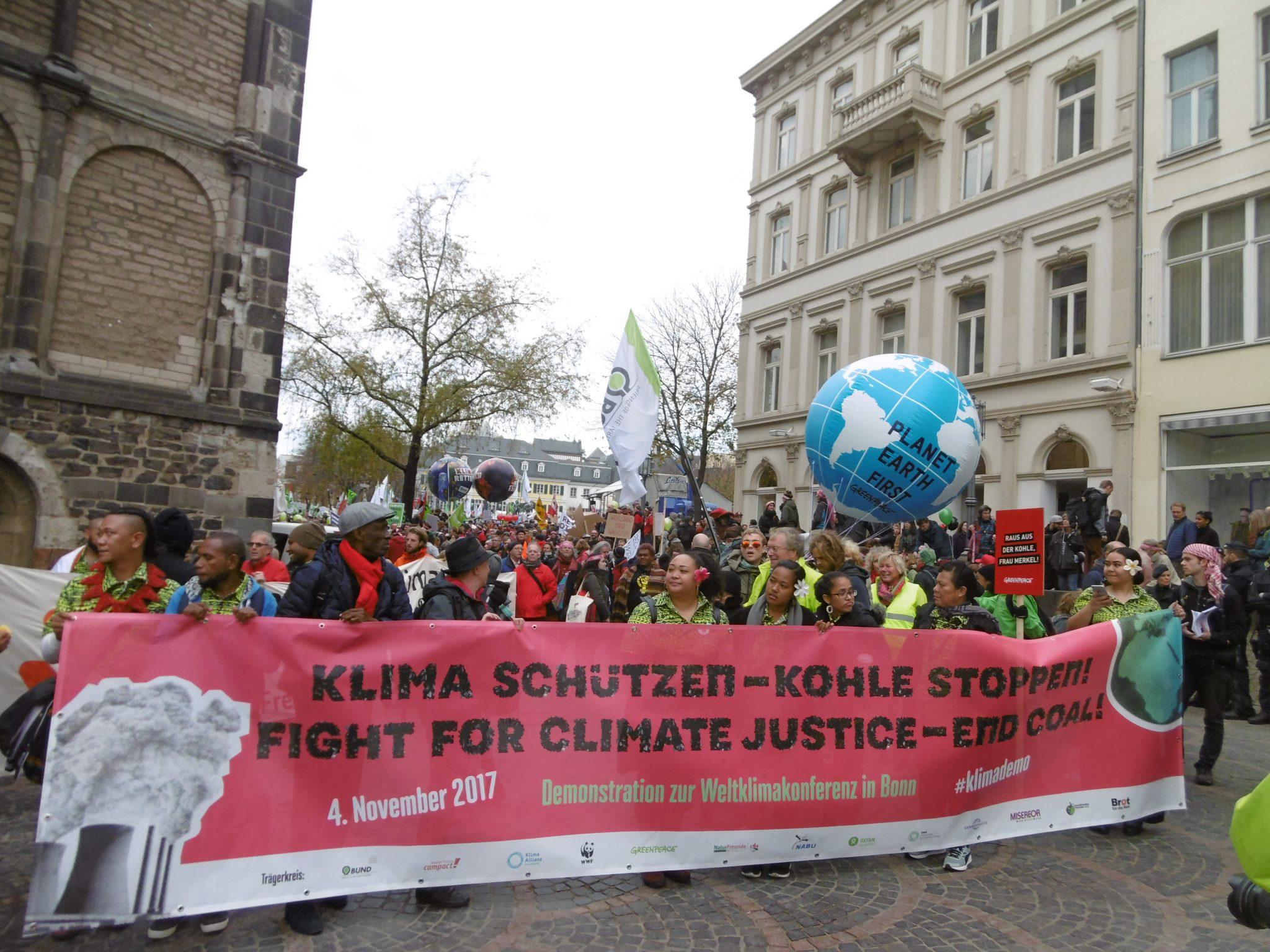 Pressemitteilung zur Demonstration in Bonn am 4.11.