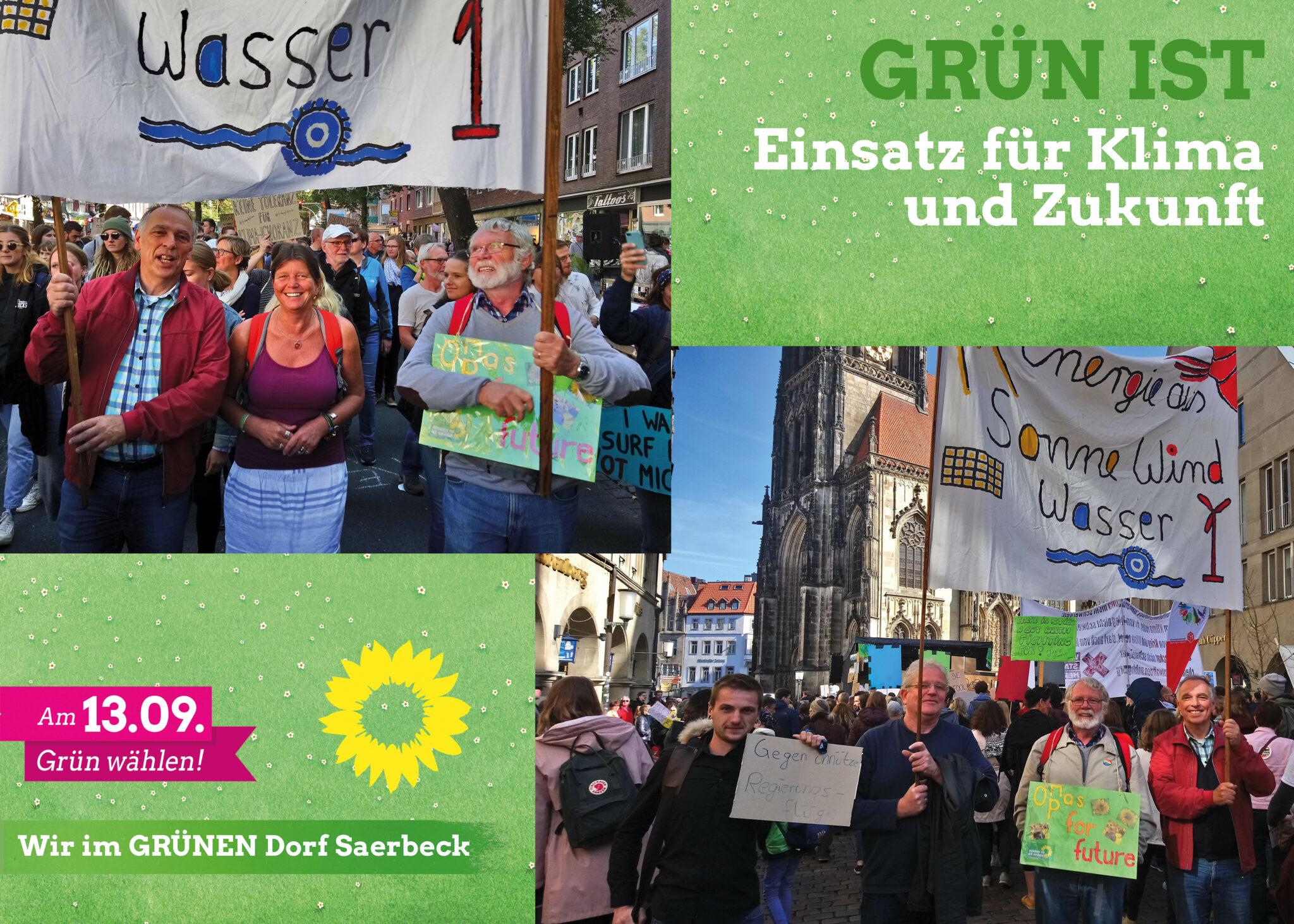 Plakate zur Kommunalwahl 2020